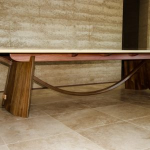 Huon Pine and Blackwood Dining Table